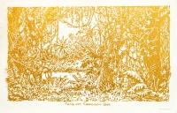 φύλλο χρυσού σε χαρτί, 76 Χ 103 εκ