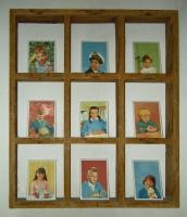 Όταν μεγαλώσω, ψηφιακή εκτύπωση σε πορσελάνη, 18 X 13 cm (9 κομμάτια)