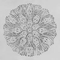 Χωρίς τίτλο, μολύβι σε χαρτί, 106 X 106 εκ