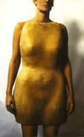 Το αρχαίο φουστάνι, κερί, 52  Χ 85 Χ 20 cm