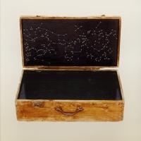Κουτί, κερί και μέταλλο, 12.5 Χ 18 Χ10 εκ